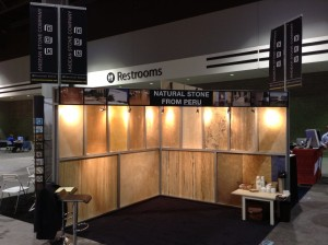 Coverings booth